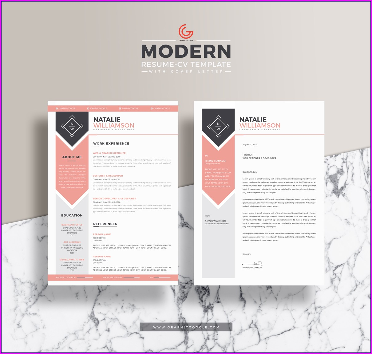 Free Template For Cv Cover Letter
