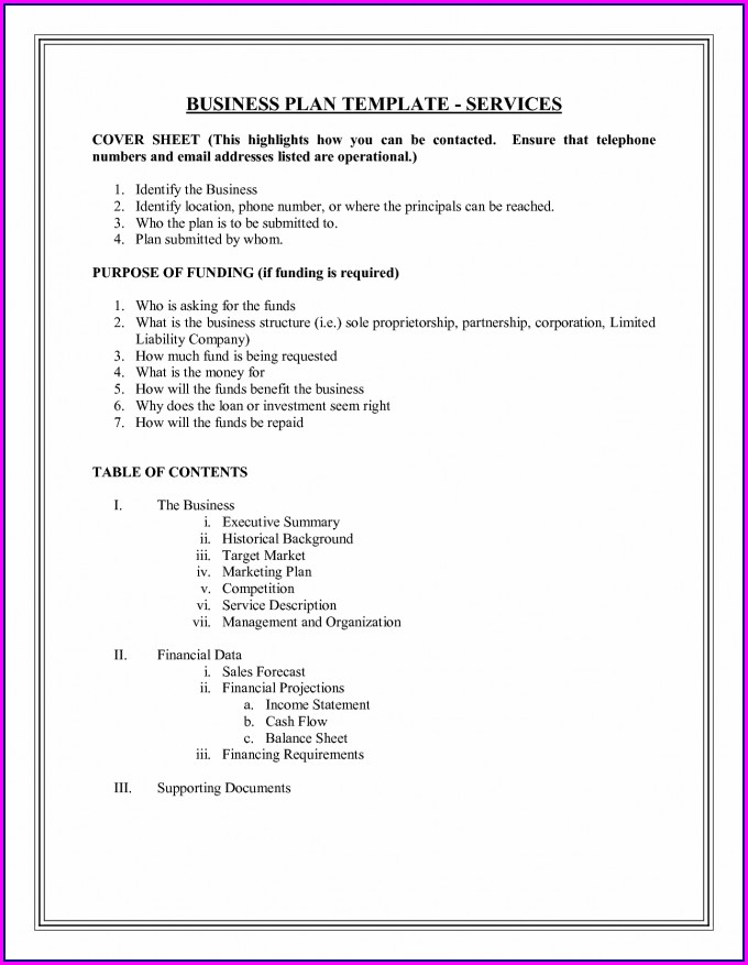 Funding Proposal Business Investment Proposal Template