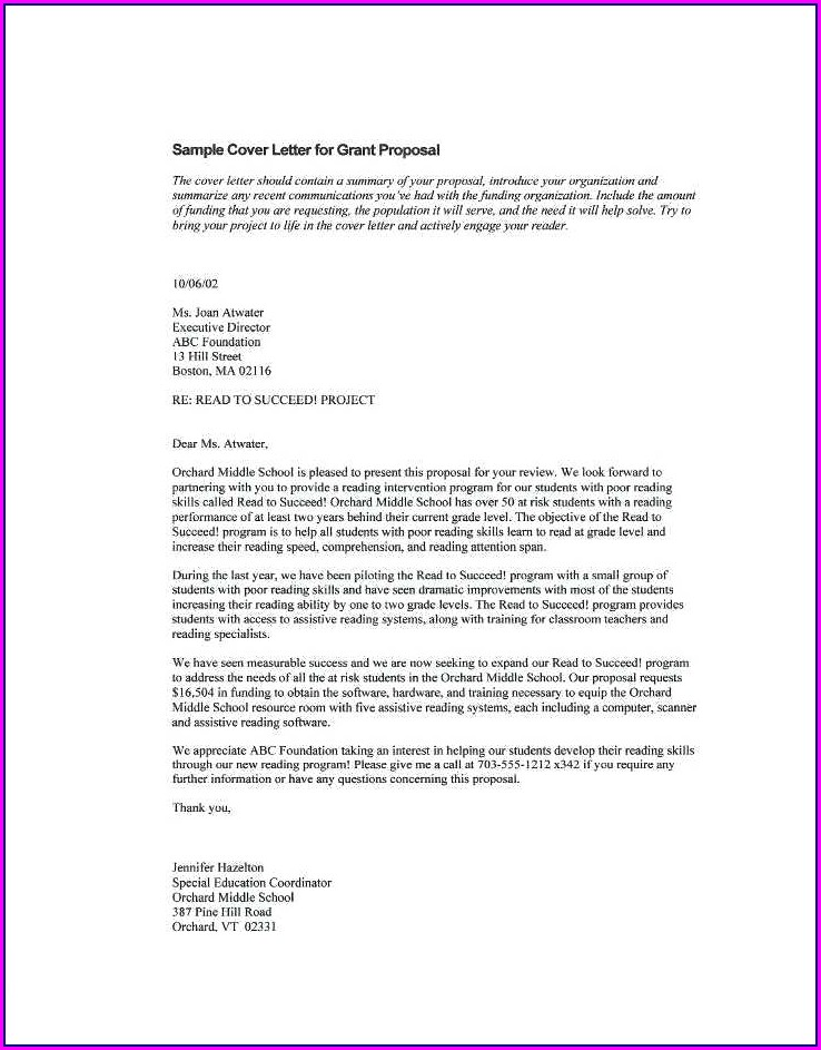 Funding Proposal Template Free Download