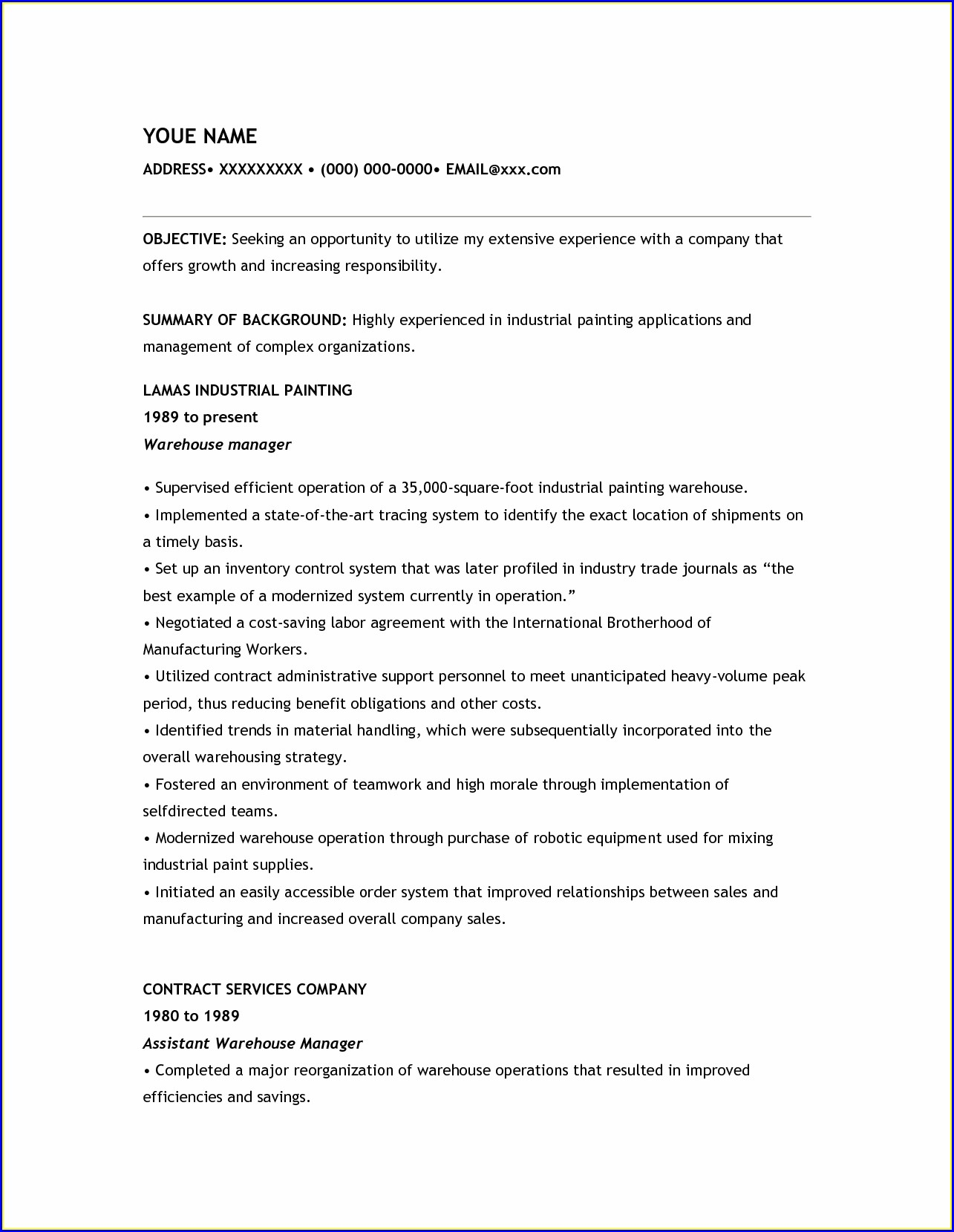 Healthcare Resume Samples Free