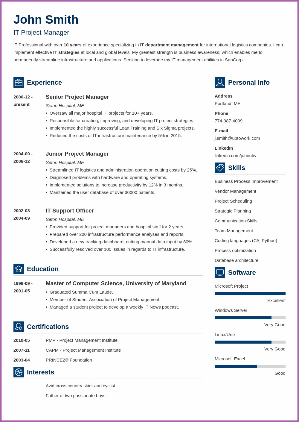 Highest Rated Resume Builder