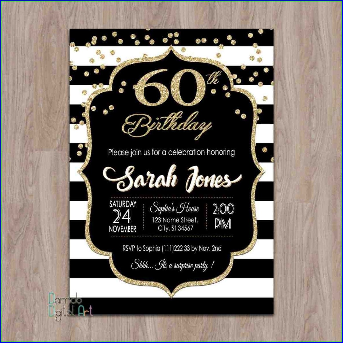 Invitation Templates 50th Birthday Party