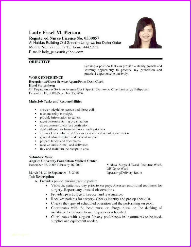 Life Insurance Agent Resume