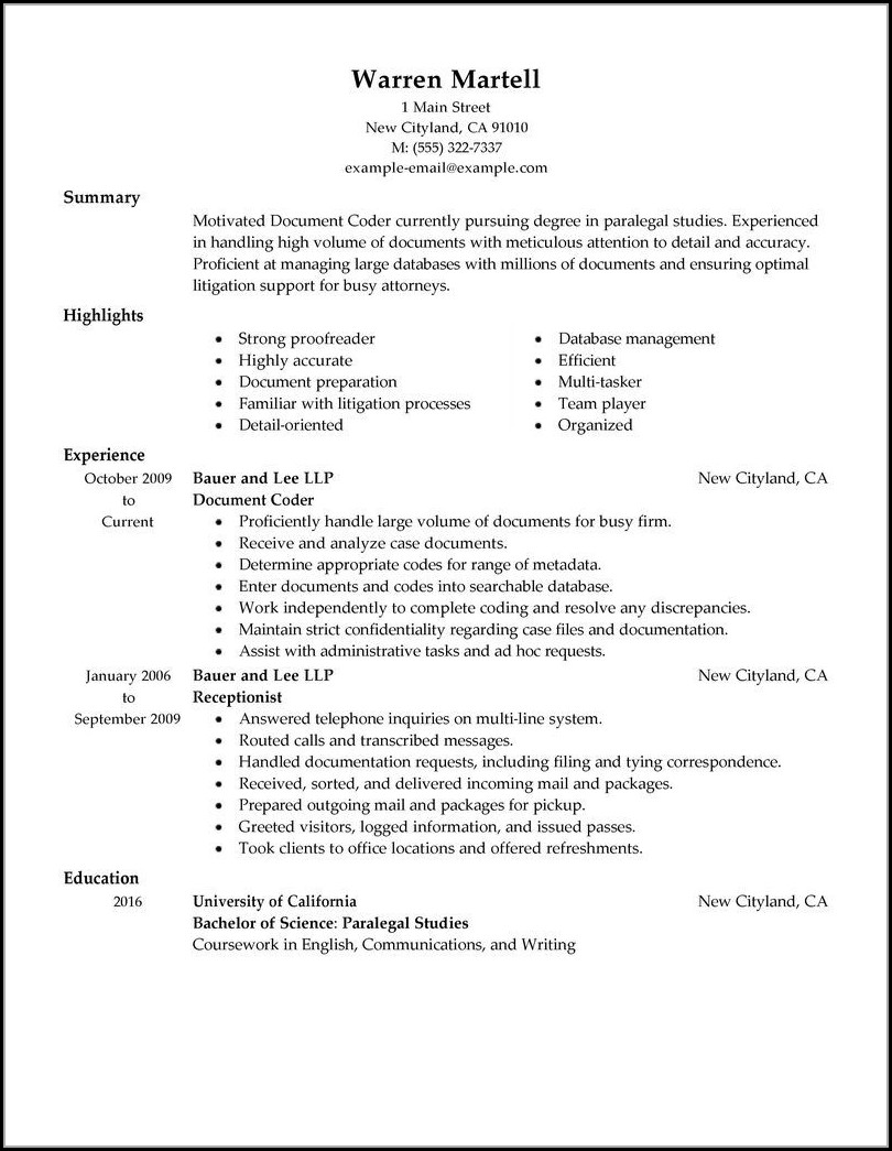 Medical Billing And Coding Resume Cover Letter