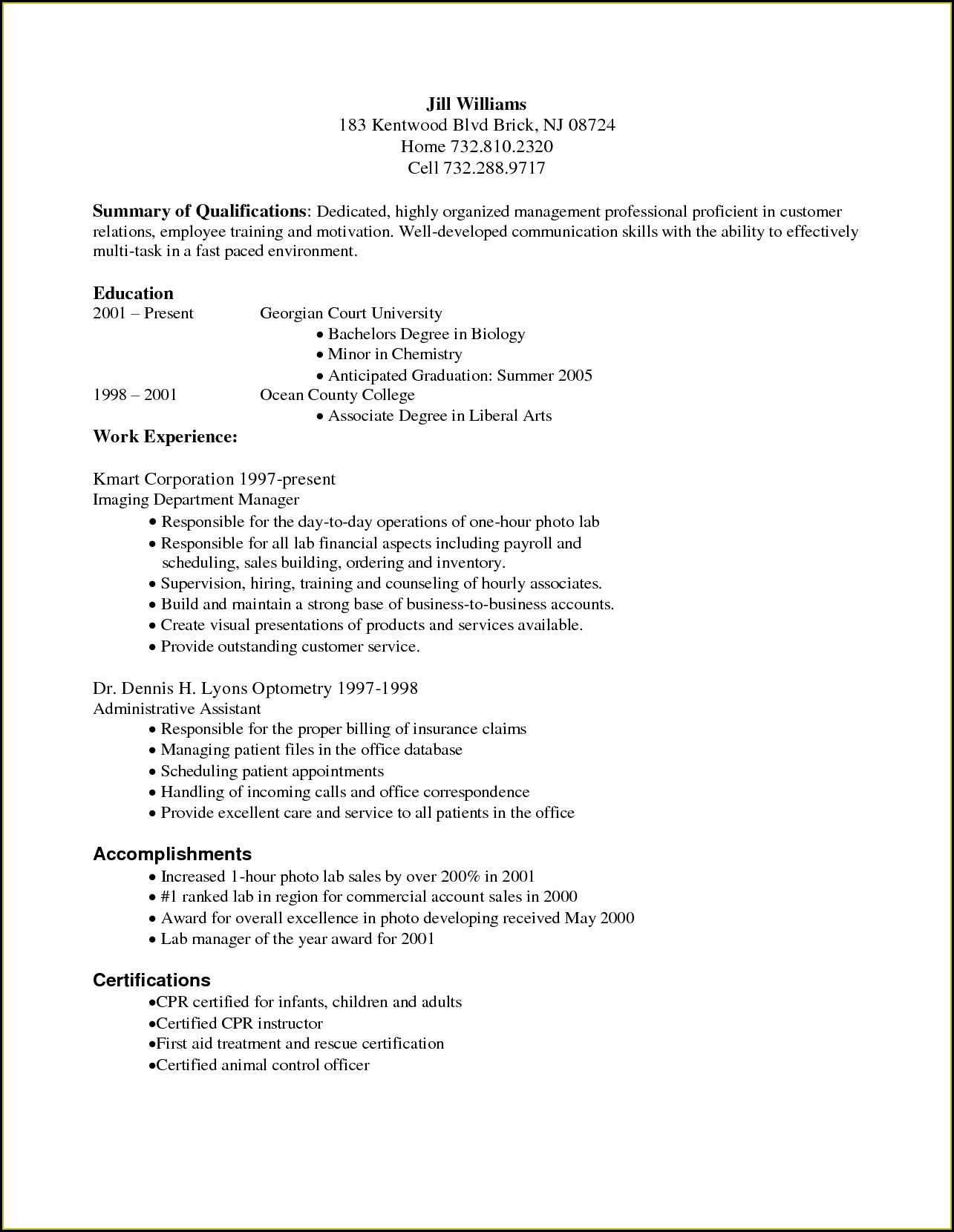 Medical Billing And Coding Resume Objective Statement