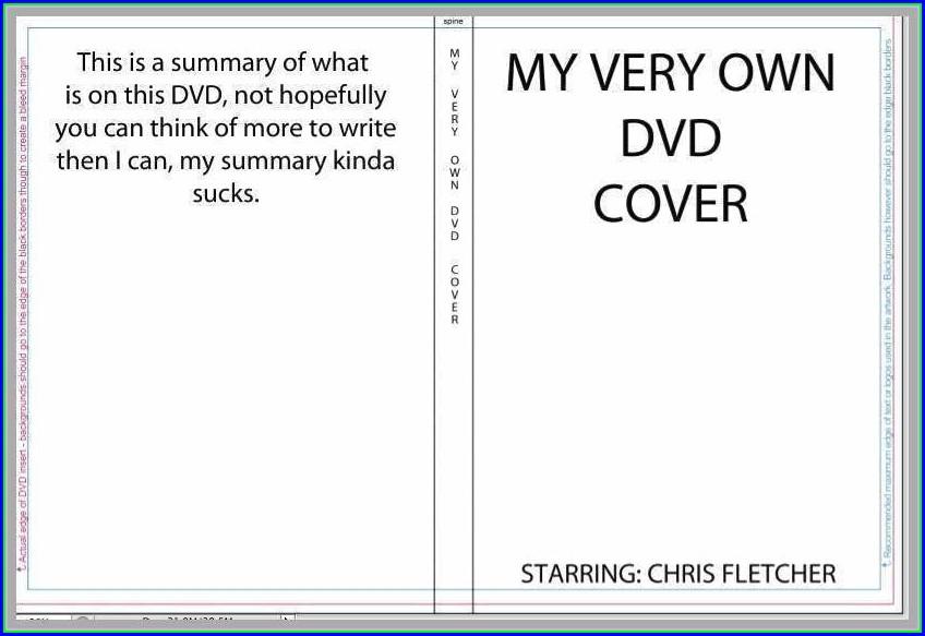 Memorex Dvd Inserts Template