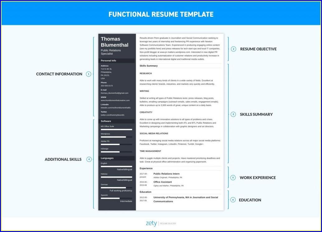 Microsoft Word Cv Template Free