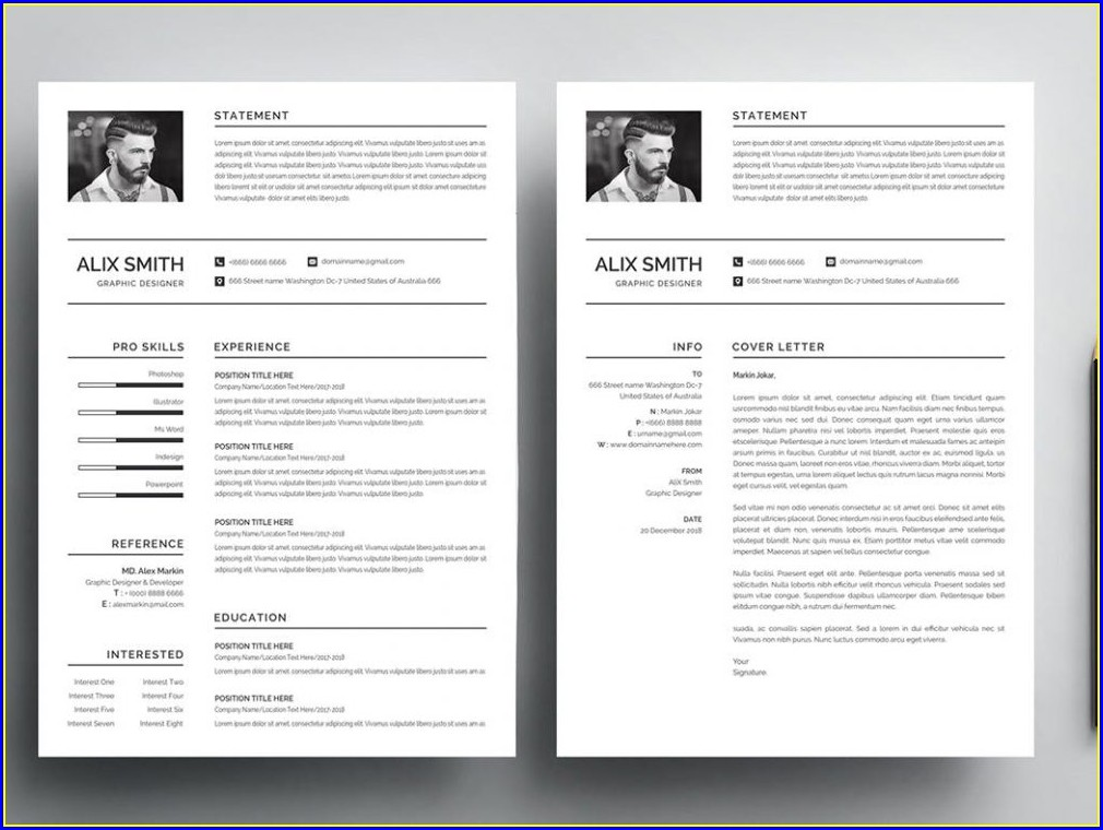 Microsoft Word Cv Template Word Free Download 2019