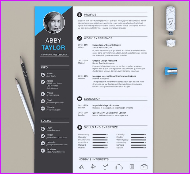 Microsoft Word Resume Templates 2012