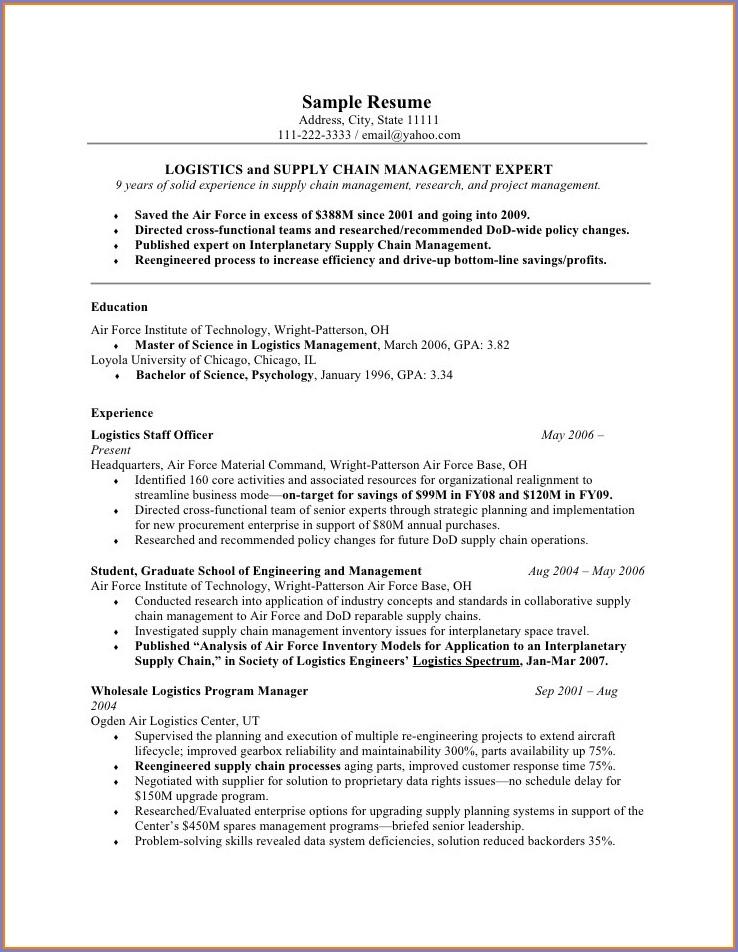 Military Veteran Resume Help