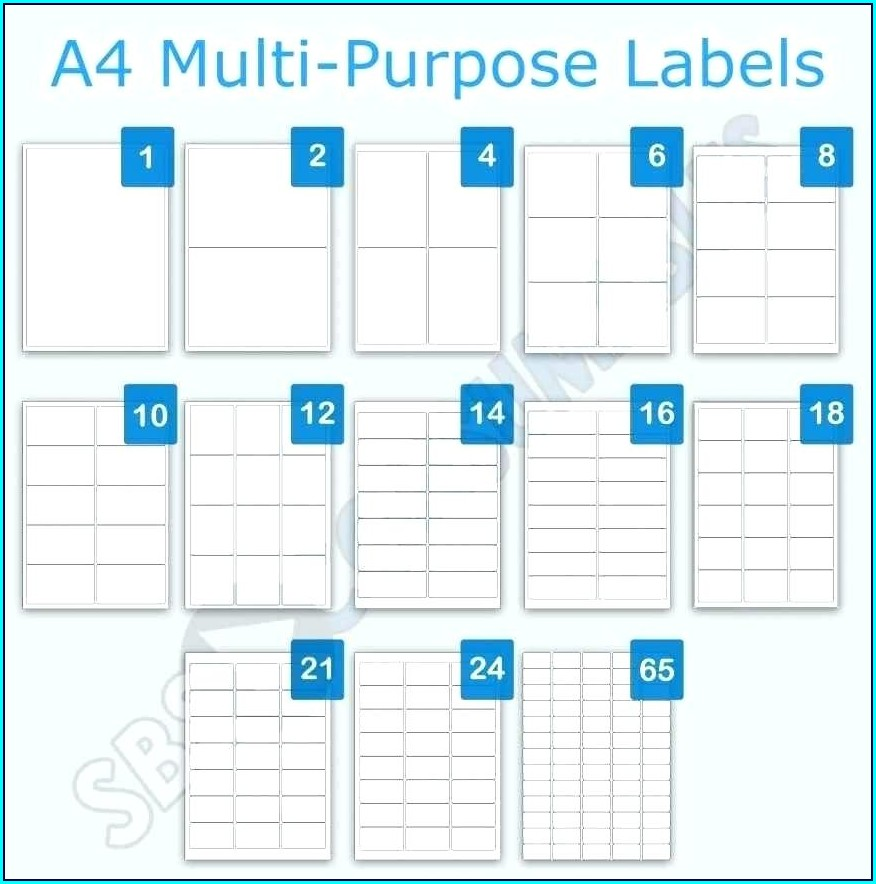 Multi Purpose Labels Template
