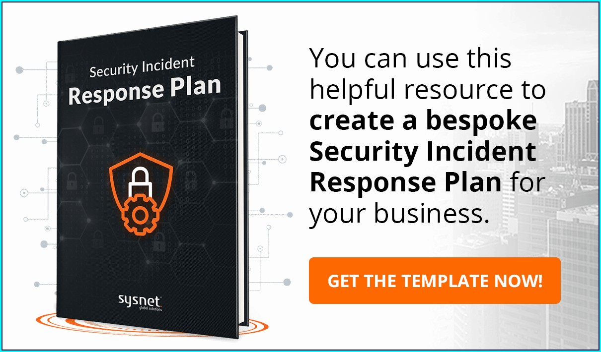 Pci Incident Response Plan Template