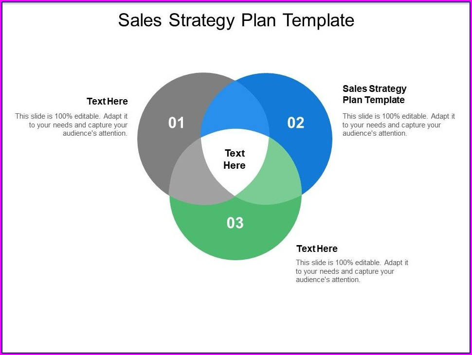 Powerpoint Sales Strategy Plan Template