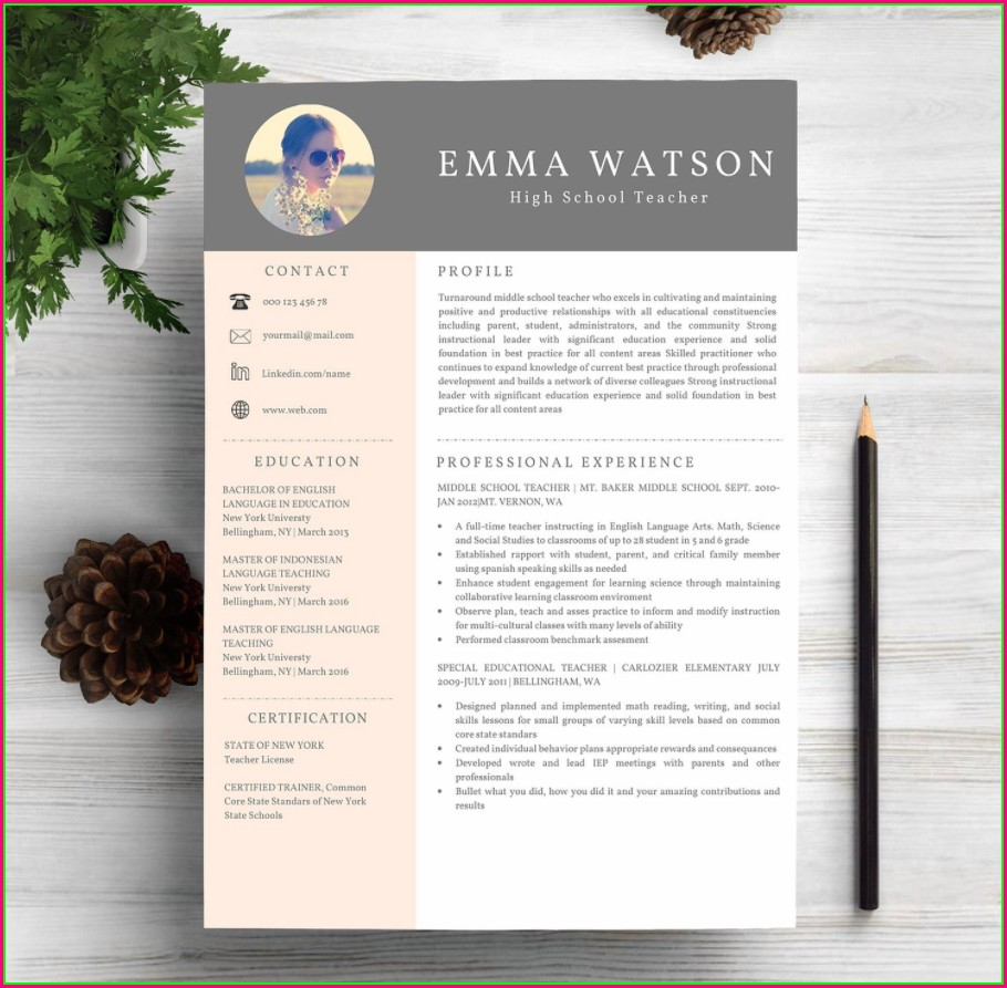 Printable Free Resume Templates 2019