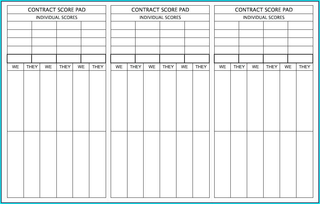 Printable Waitress Order Pad Template
