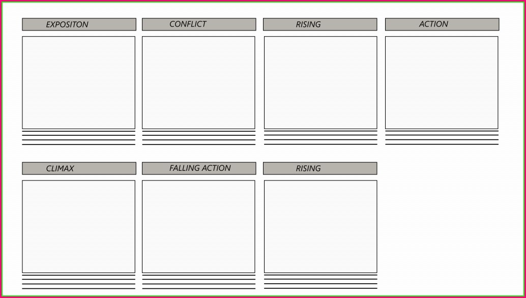 Printable Website Storyboard Template