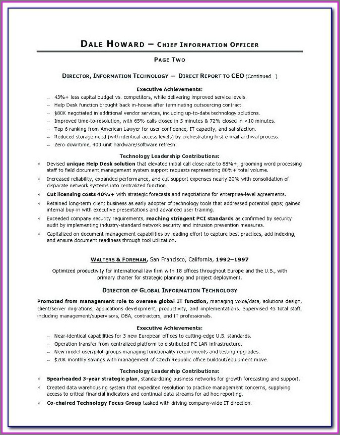 Professional Military Resume Writers