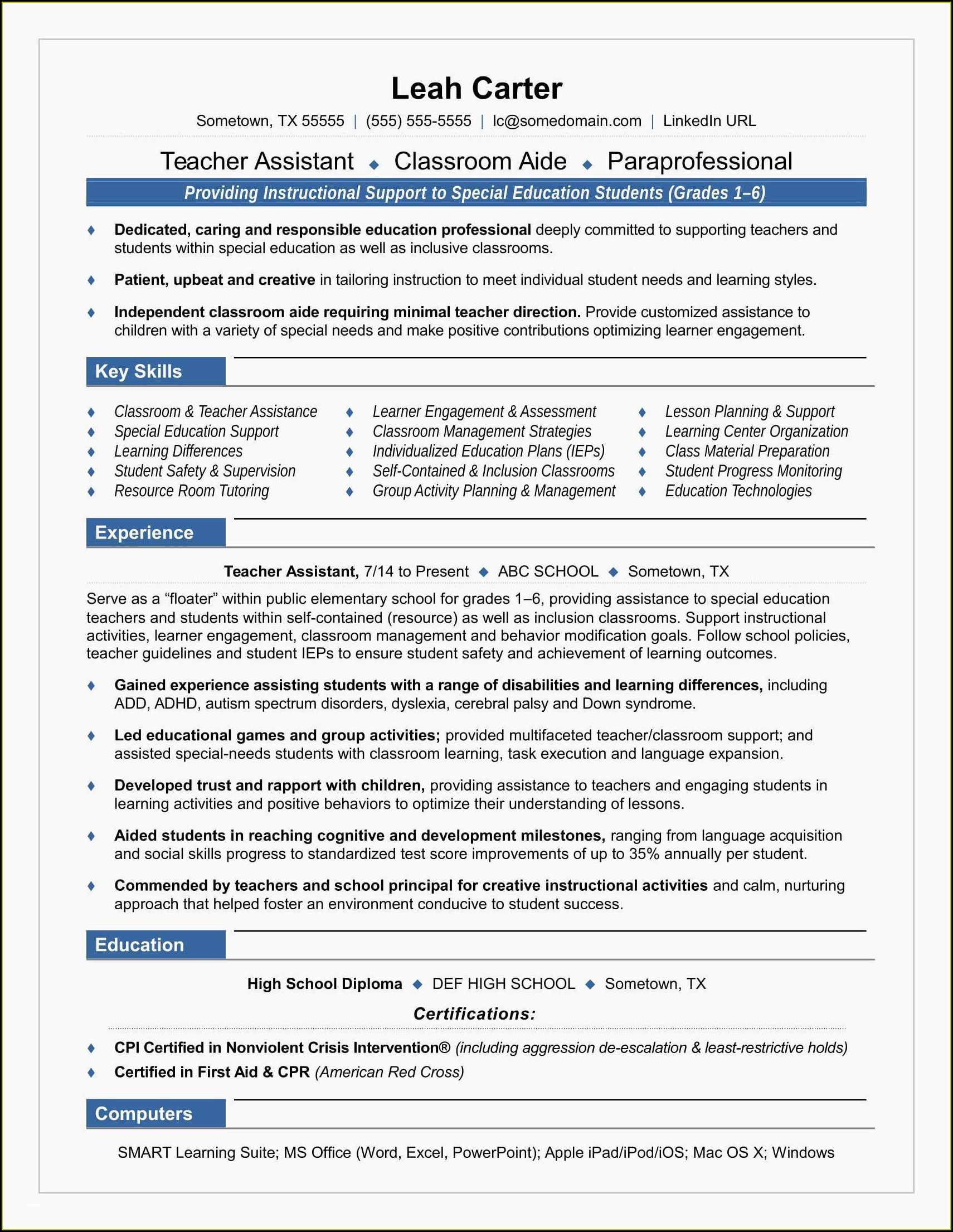 Professional Resume Writer Nyc
