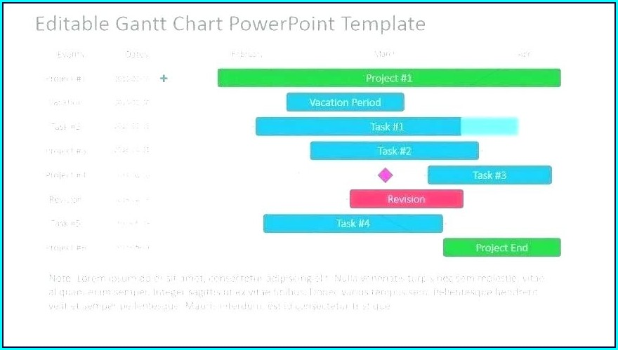 Project Plan Timeline Powerpoint Template