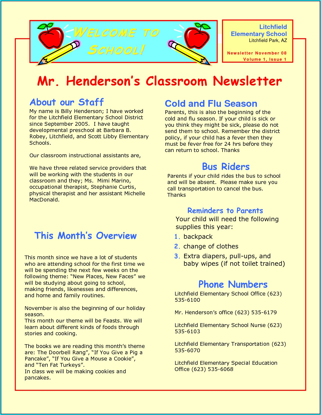 Quarterly Newsletter Free Editable Newsletter Templates