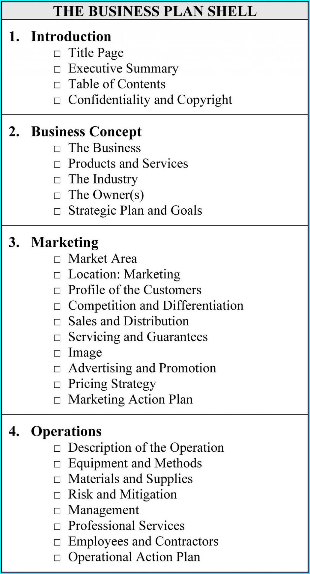 Real Estate Development Business Plan Template Free
