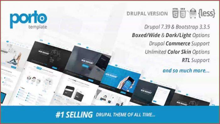 Responsive Drupal Templates