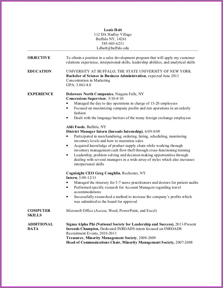 Resume Companies In Buffalo Ny