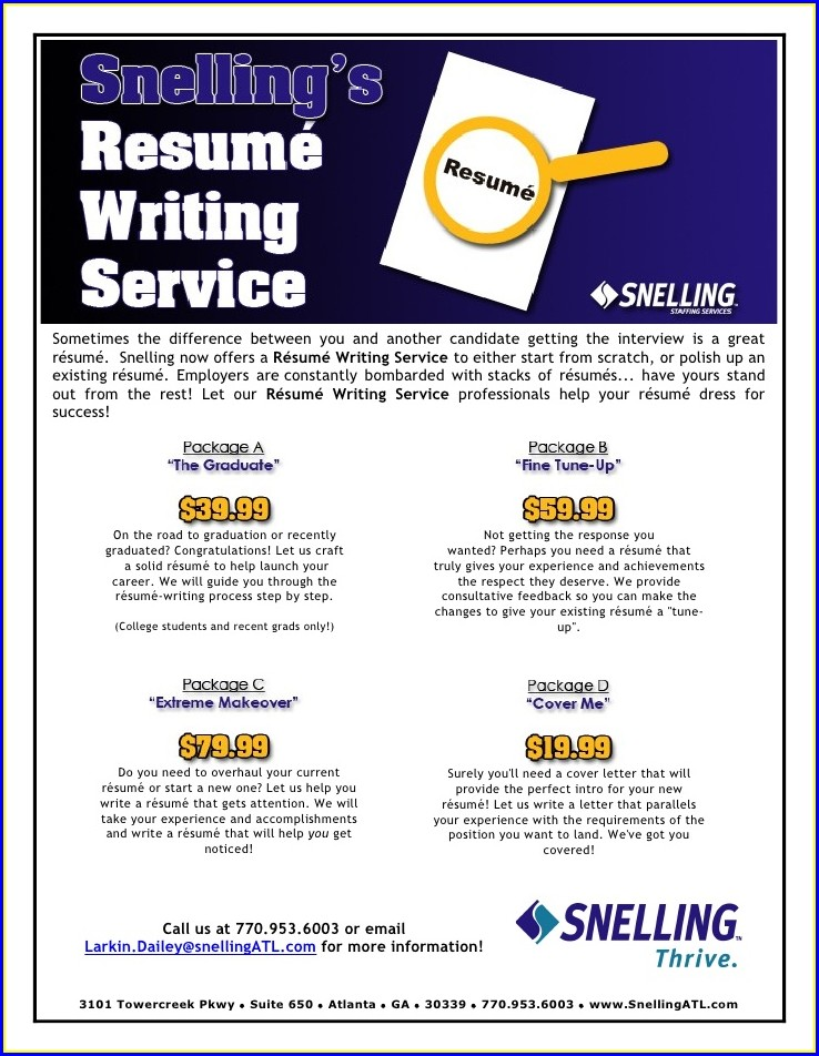 Resume Company Greenville Sc