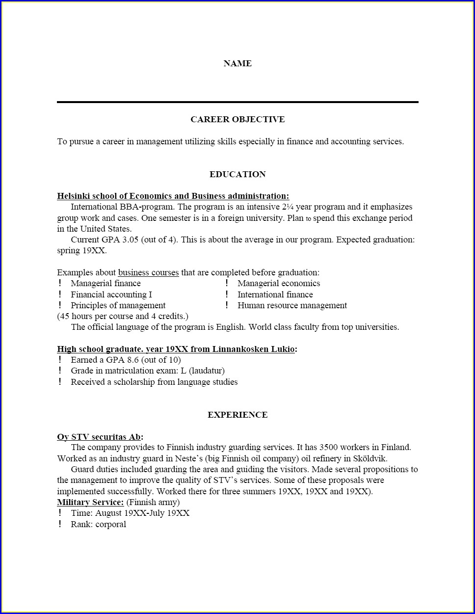 Resume Cover Letter Examples For Lpn