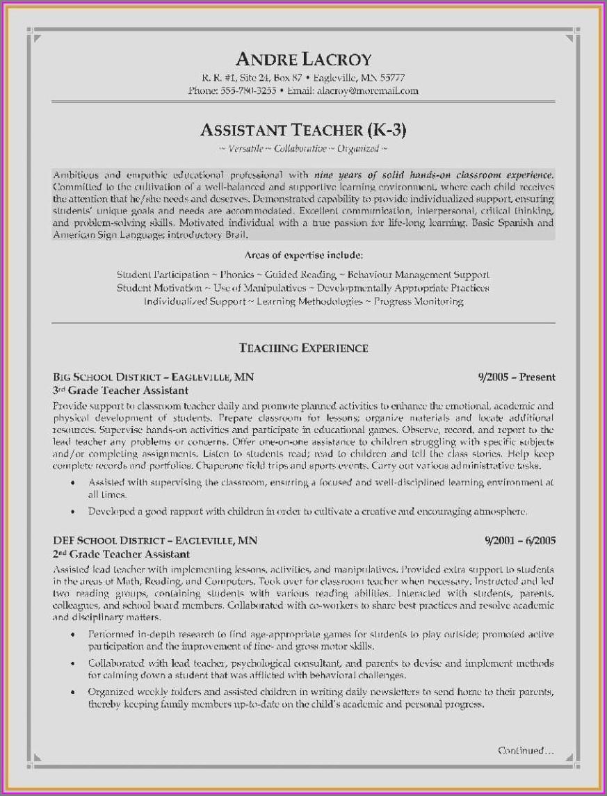 Resume Examples For Registered Dental Assistant
