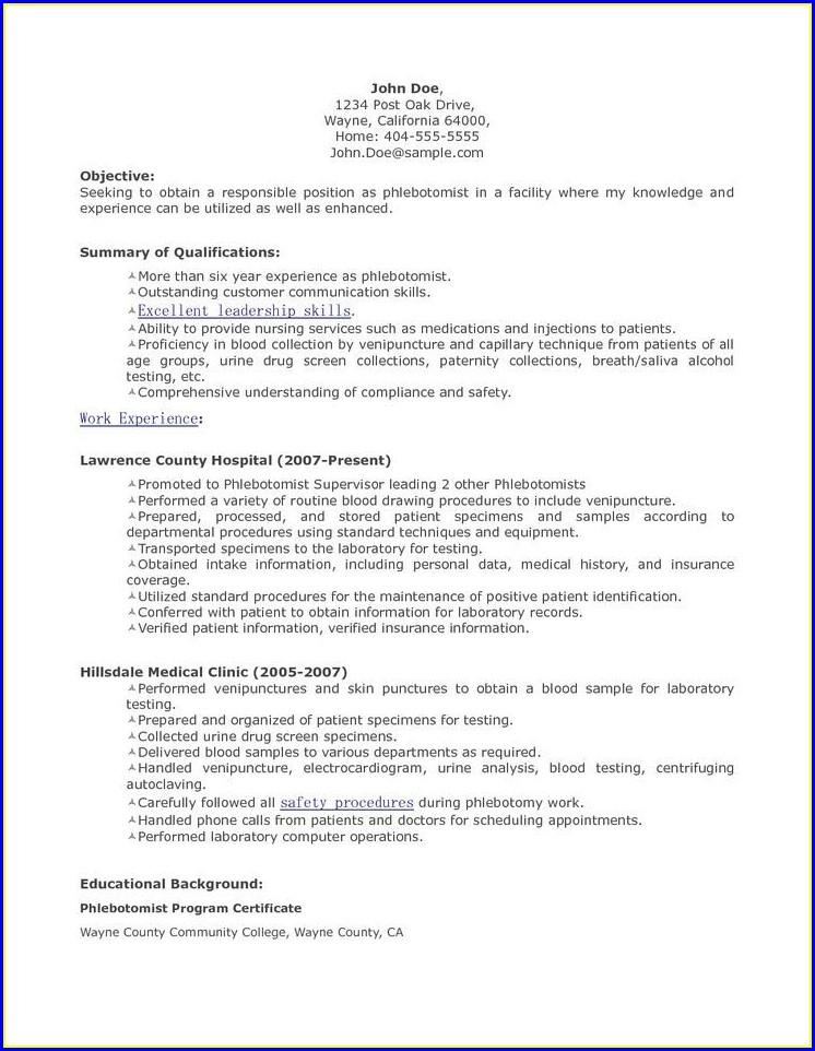 Resume Sample For Medical Assistant Objectives