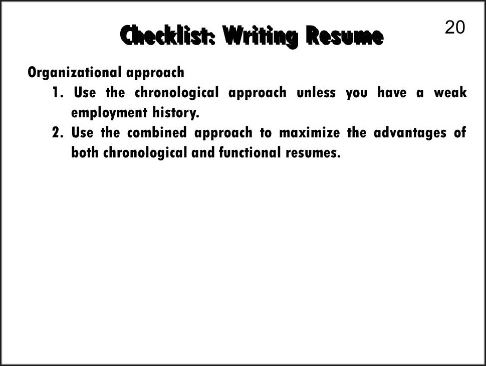 Resume Services Greenville Sc