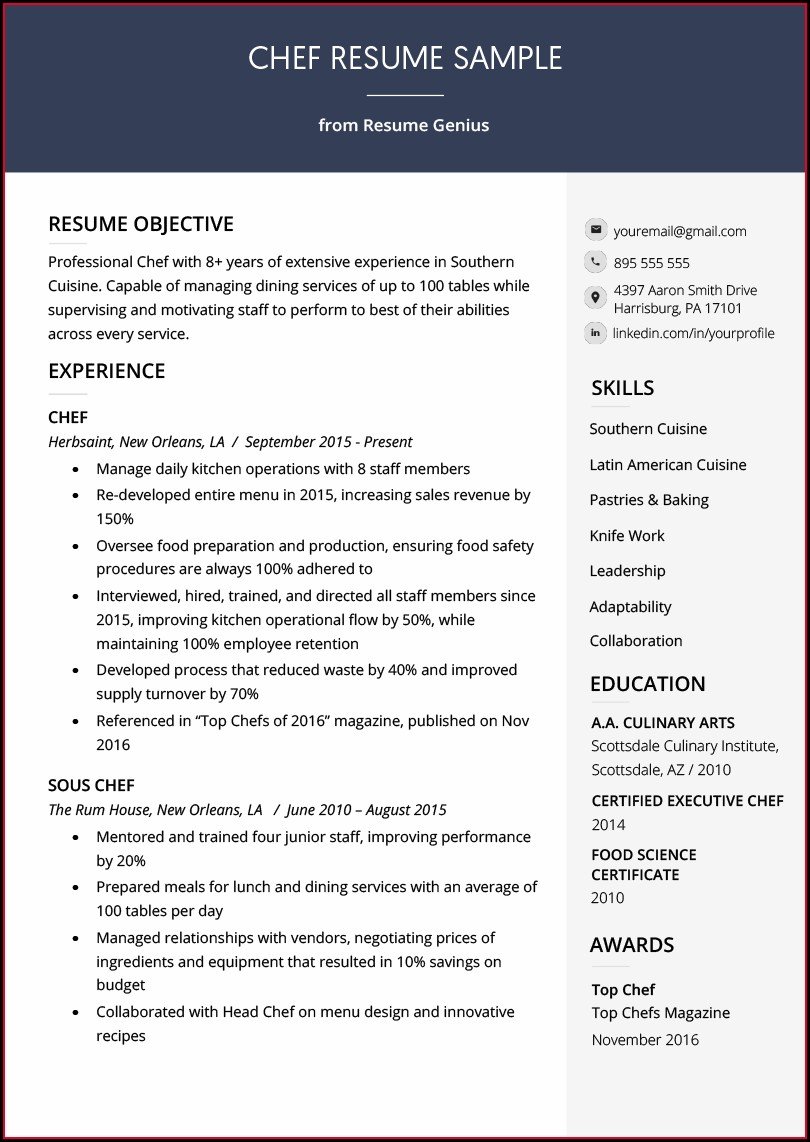 Resume Skills For Certified Nursing Assistant