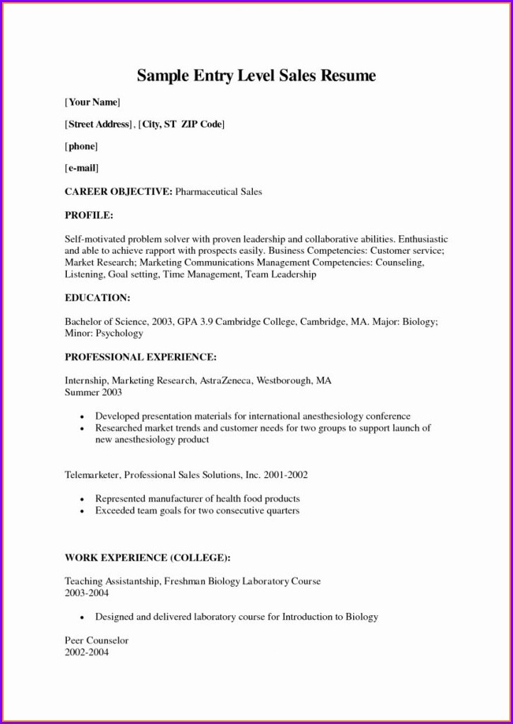 Resume Template Nursing Cna
