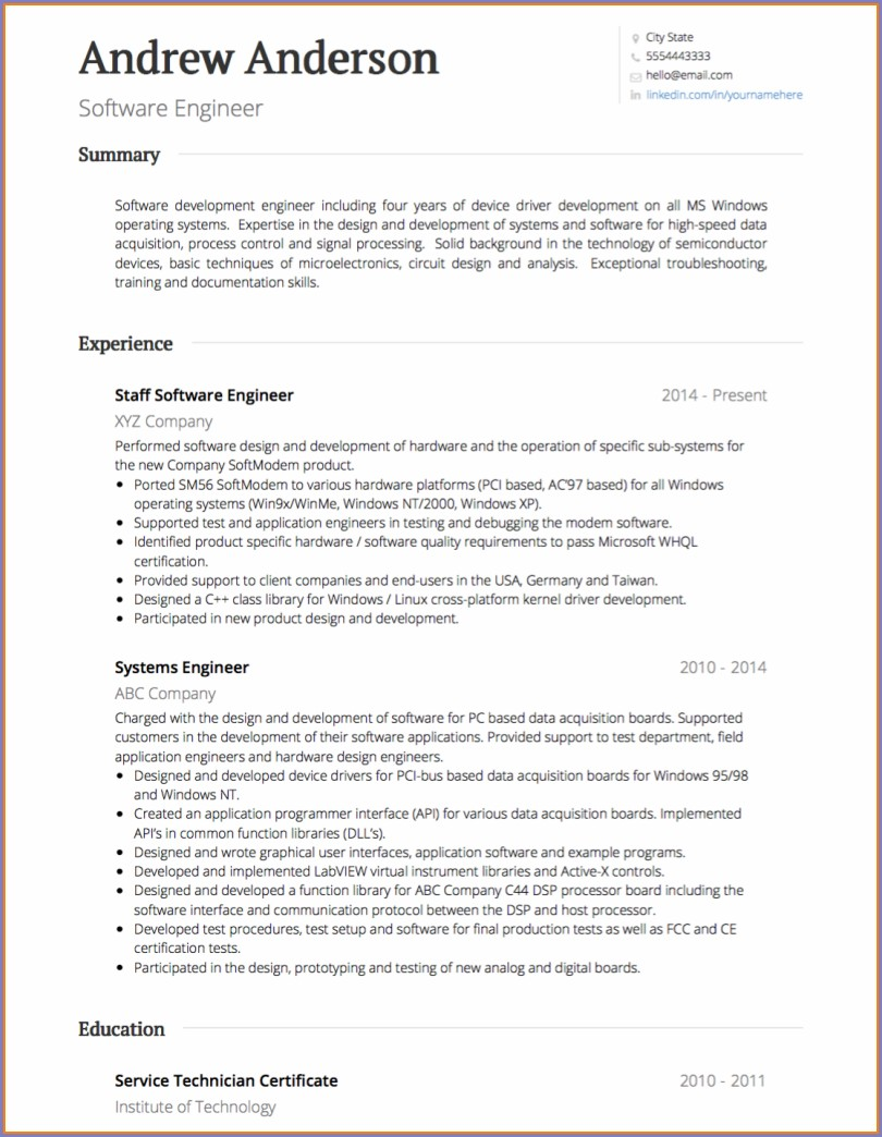 Resume Template Word Download Australia