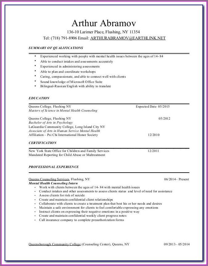 Resume Writers Buffalo Ny