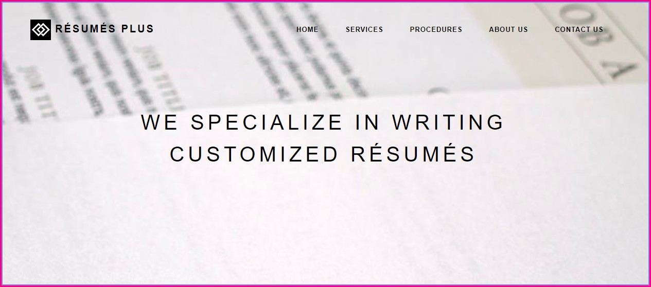 Resume Writing Services Boston
