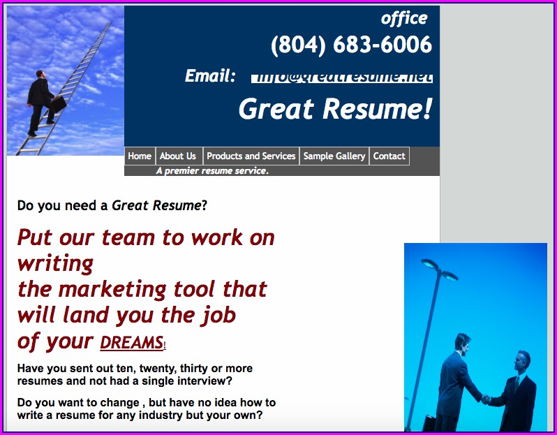 Resume Writing Services Richmond Va
