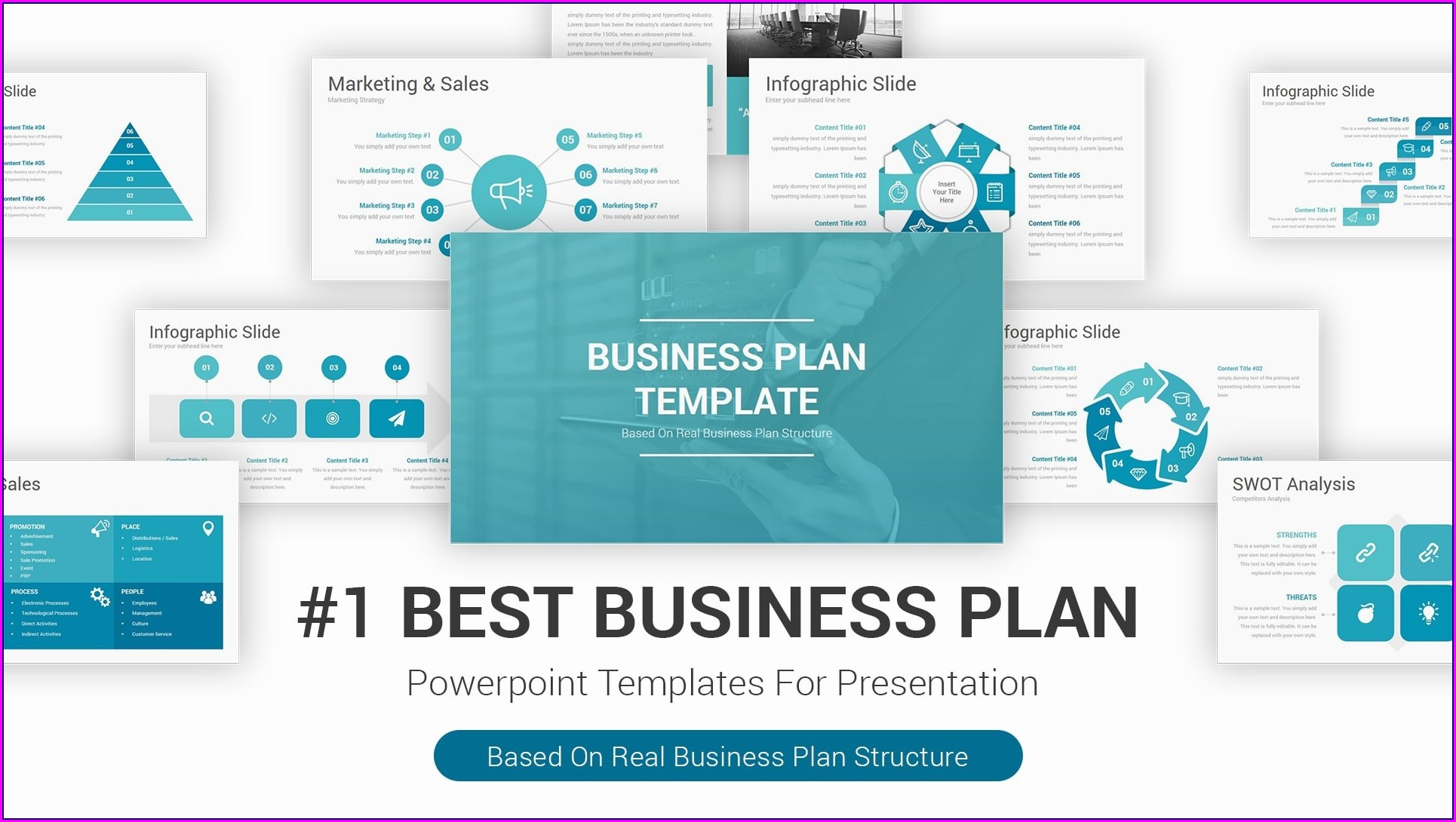 Sales Plan Template Powerpoint Free