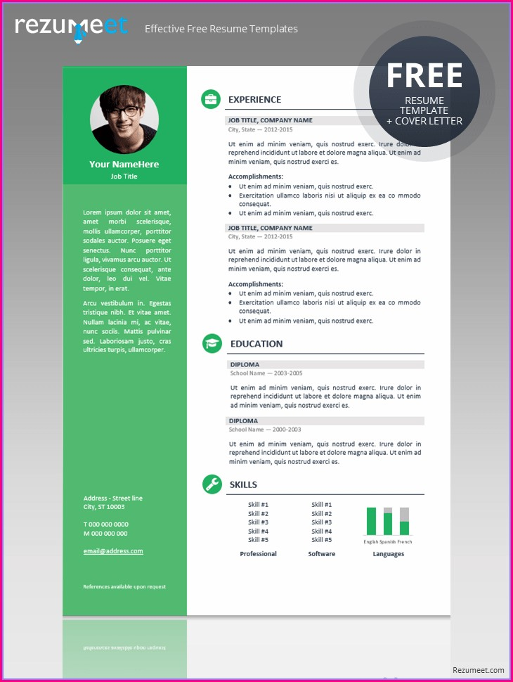 Sample Cv Format Doc Free Download