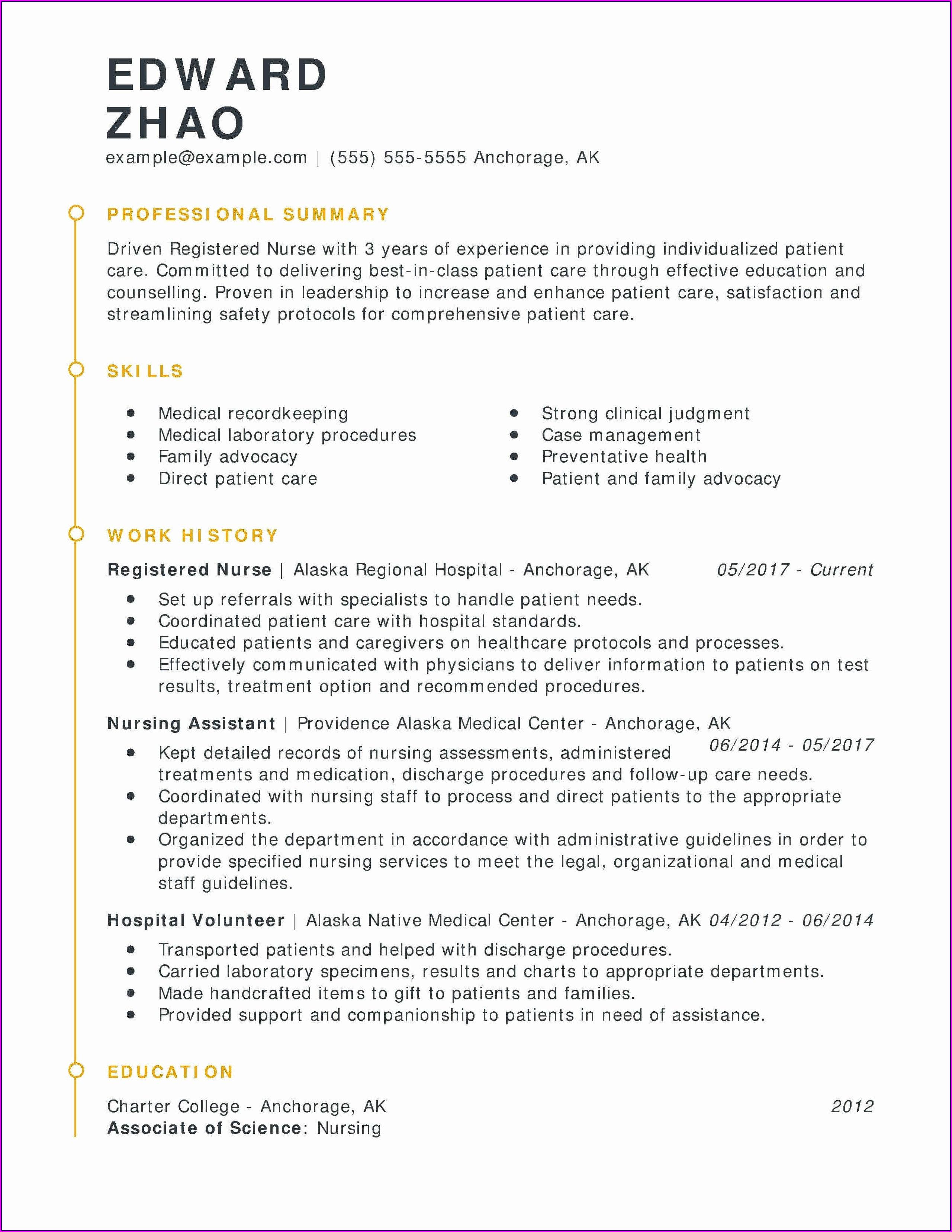 Sample Licensed Practical Nurse Resume Objective
