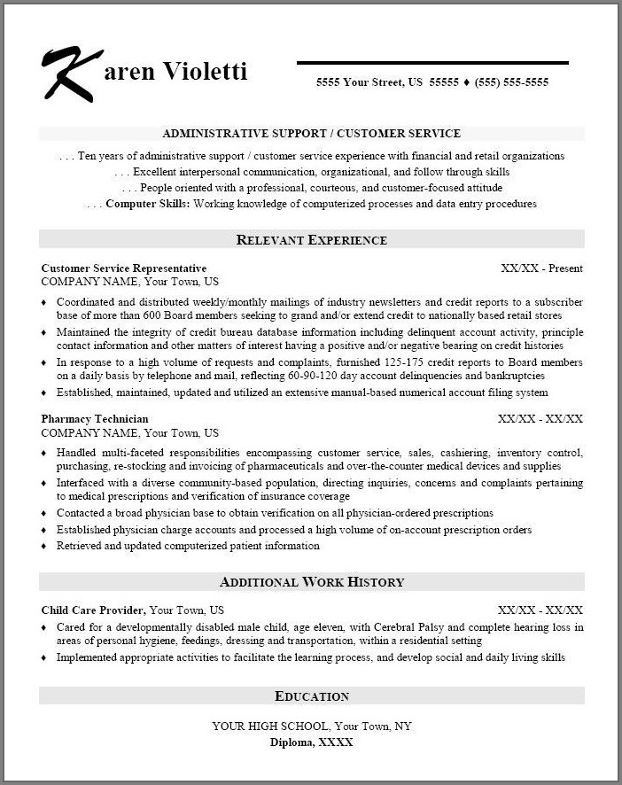 Sample Resume For Healthcare Executive