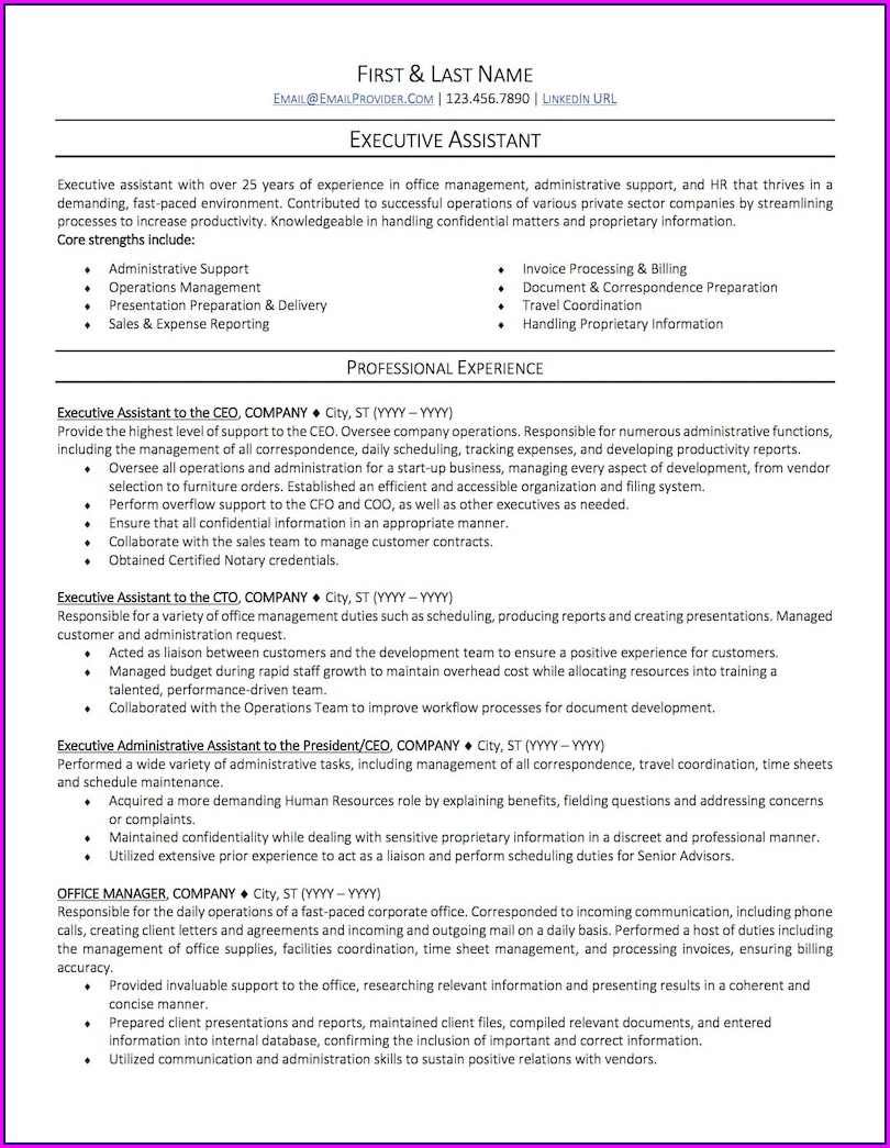 Sample Resume Objective For Medical Office Assistant