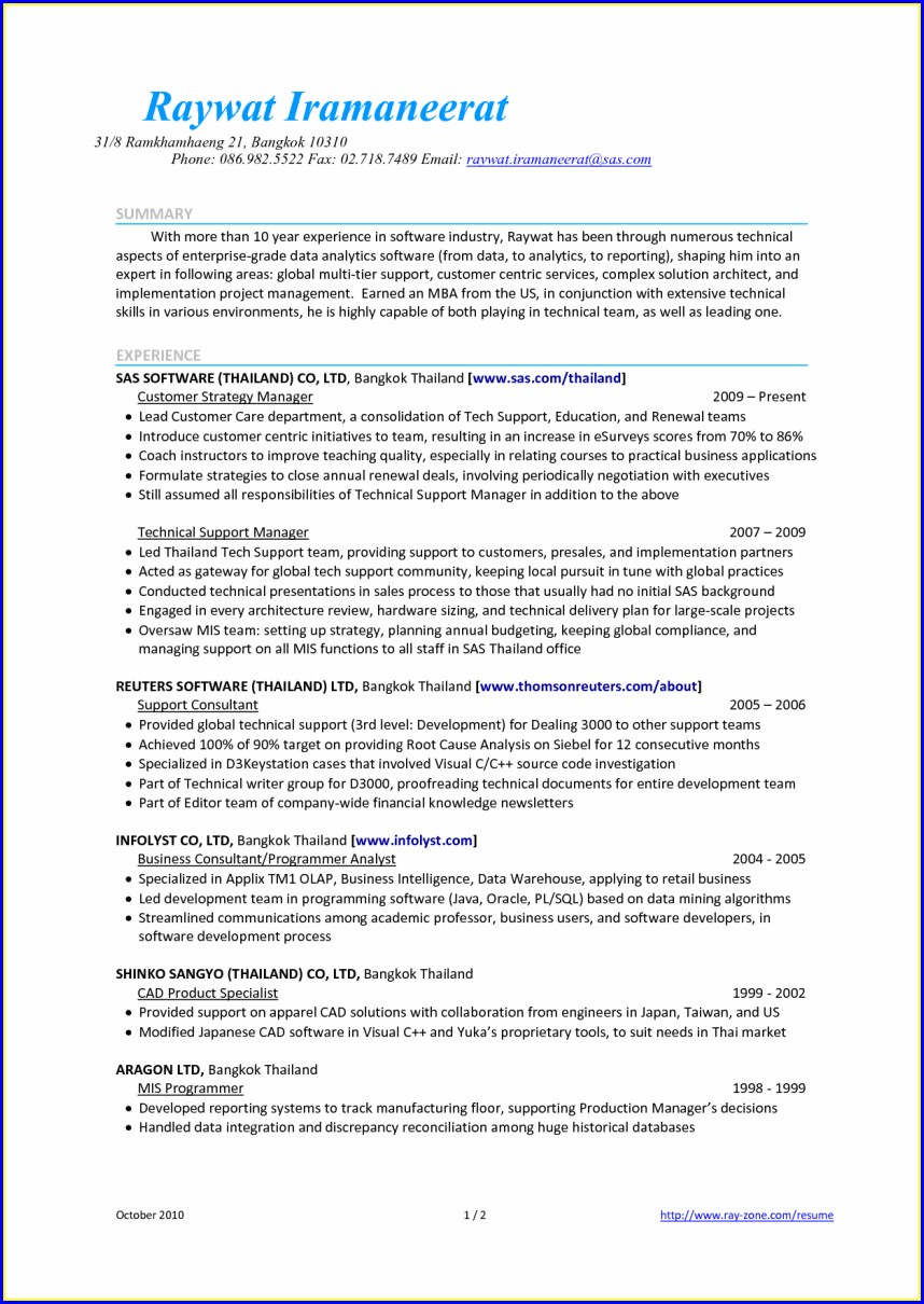 Sample Resume Warehouse Supervisor Job Objectives