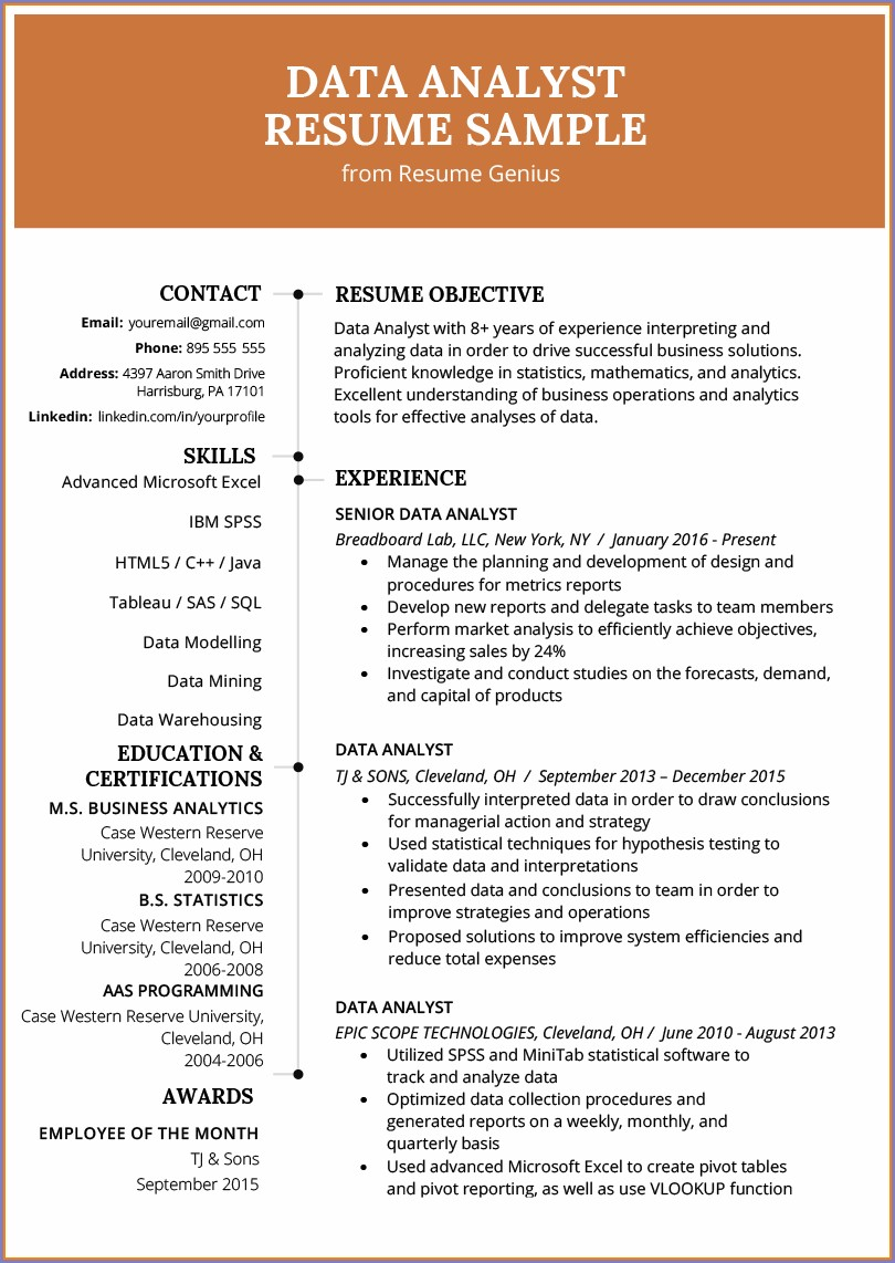 Sewing Machine Operator Resume Sample