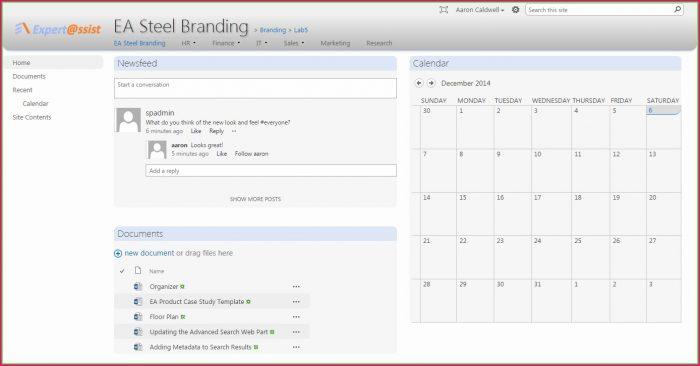 Sharepoint Branding Templates