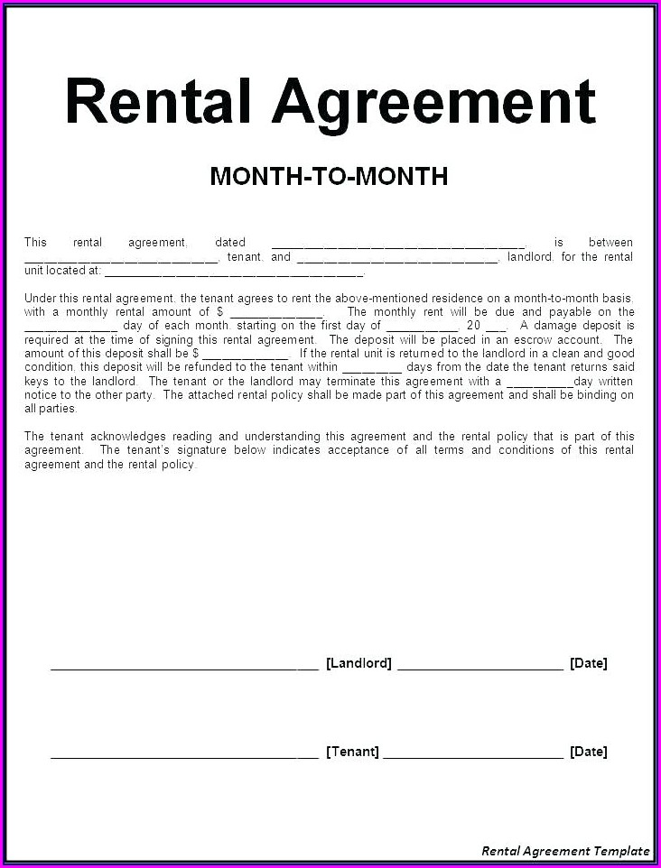Sharing Office Space Rental Agreement Template
