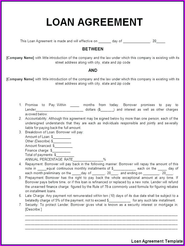 Simple Cohabitation Agreement Template