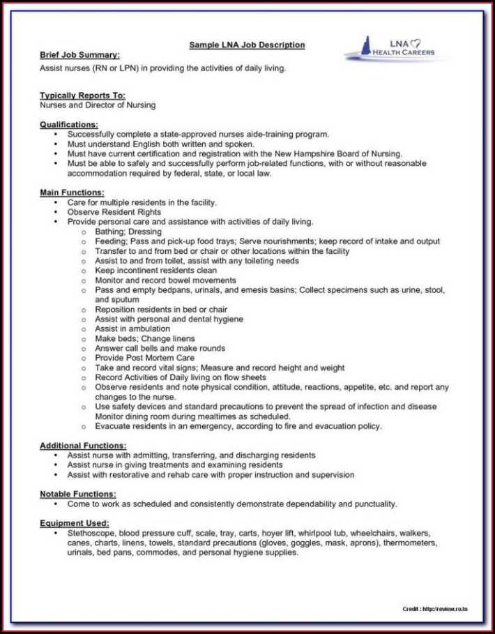 Staff Nurse Resume Format Free Download