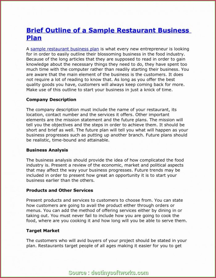 Staffing Agency Business Plan Template